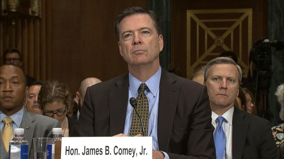 VIDEO: Comey to testify about 'inappropriate meetings' with Trump