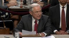 VIDEO: White House reacts to Sessions testimony, faces new lawsuit