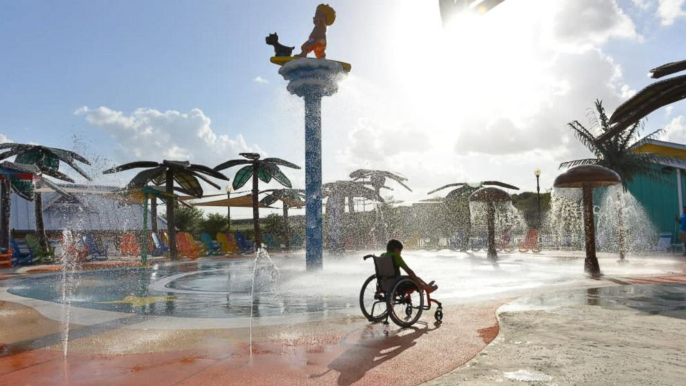 VIDEO: World's 1st fully accessible water park opens in Texas