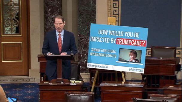 VIDEO: Democrats launch marathon protest against health care bill