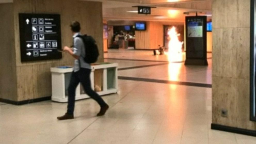 VIDEO: Security high in Brussels after train station attack
