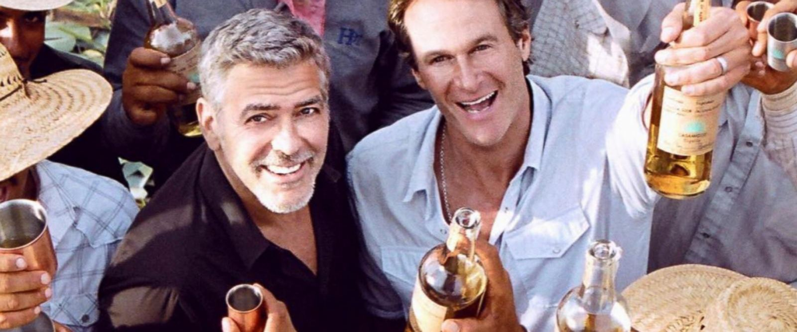 VIDEO: George Clooney's business partner reacts to $1B tequila sale