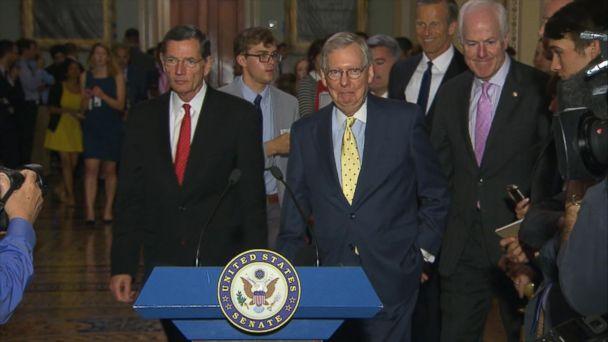 VIDEO: Senate Republicans to unveil health care bill 'discussion draft'