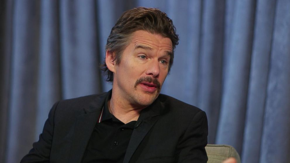 VIDEO: Ethan Hawke calls being a dad 'the best part of my life'