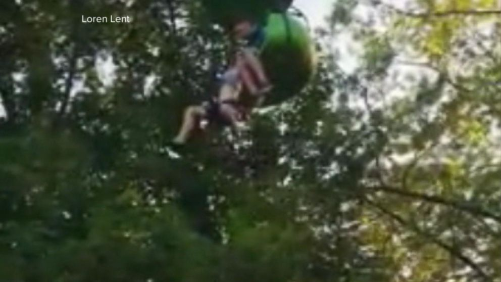 VIDEO: Teen's fall from Six Flags 'sky ride' captured on video