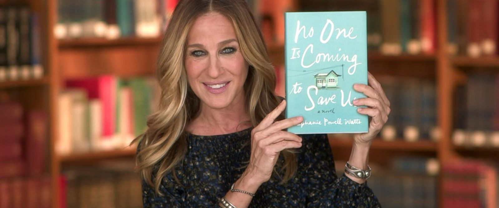 VIDEO: Sarah Jessica Parker selects 'No One Is Coming to Save Us' as her first book club pick