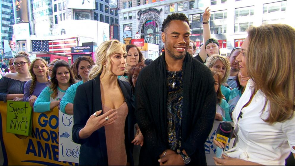 VIDEO: Rashad Jennings and Emma Slater discuss the 'Dancing' tour