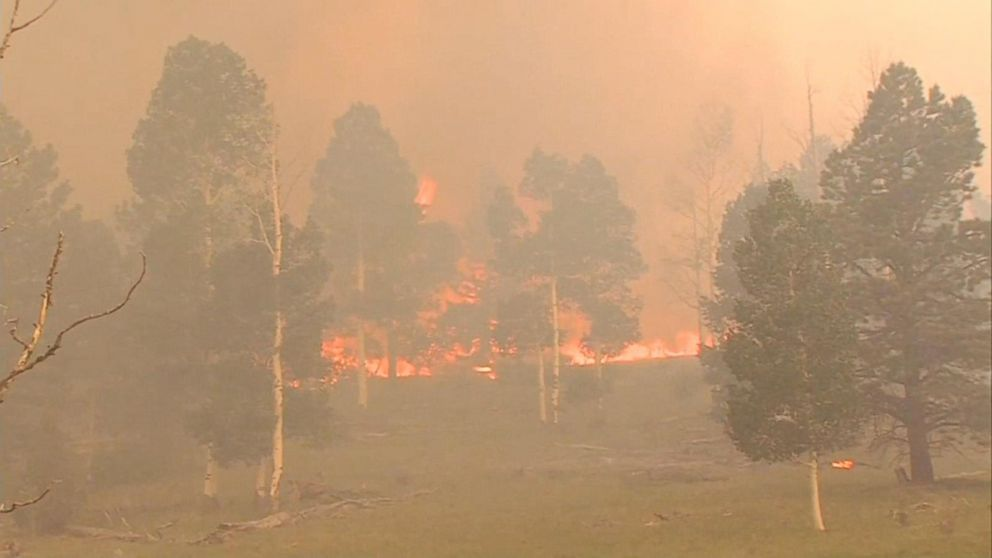 VIDEO: Massive Utah wildfire rages across more than 42K acres
