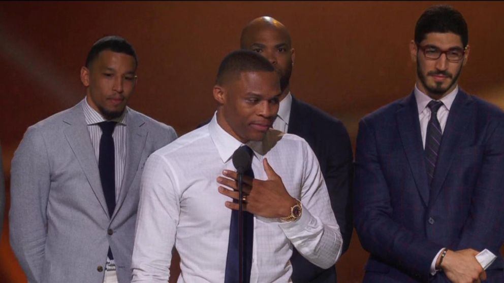 VIDEO: Best moments of the 2017 NBA Awards