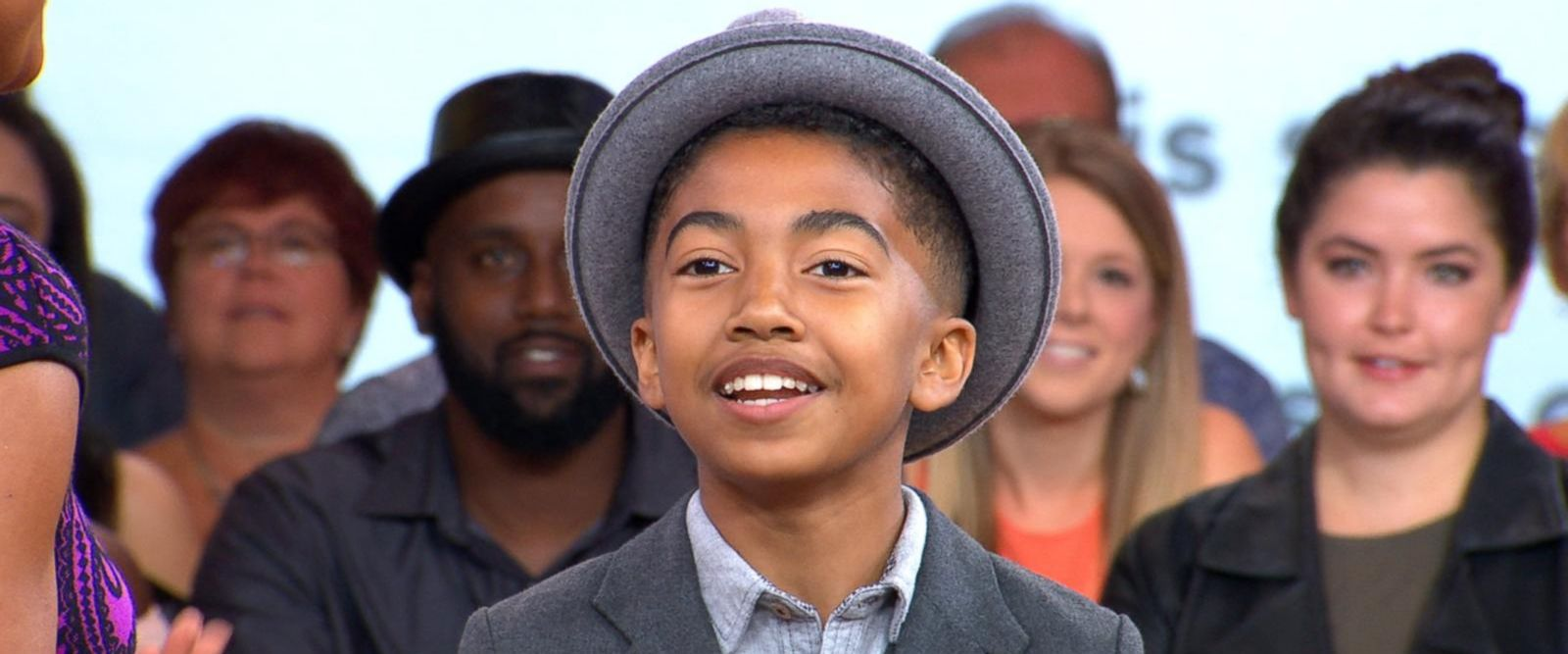 VIDEO: Kid correspondent Miles Brown takes over the NBA Awards red carpet