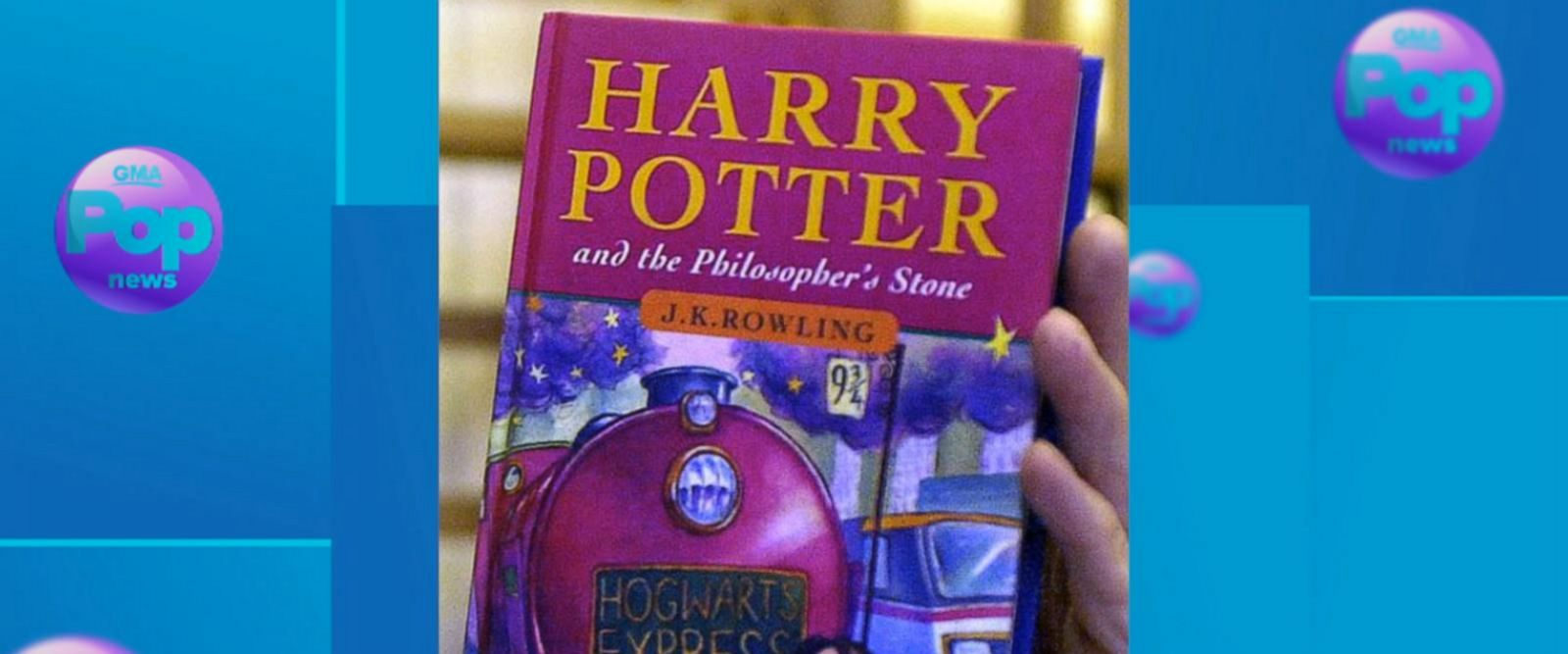 VIDEO: JK Rowling thanks fans on 'Harry Potter' 20th anniversary