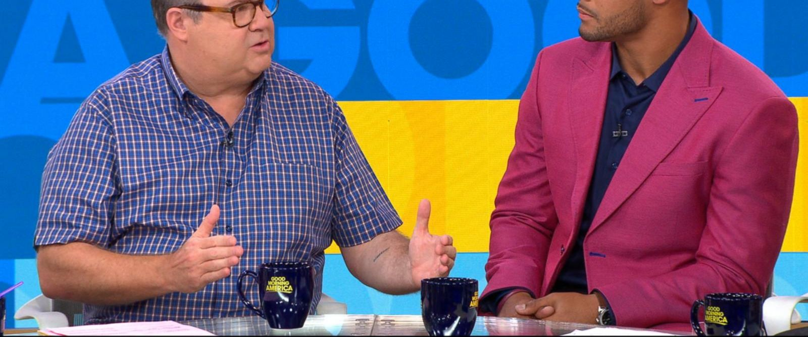 VIDEO: Eric Stonestreet and Dak Prescott discuss their new project for cancer research