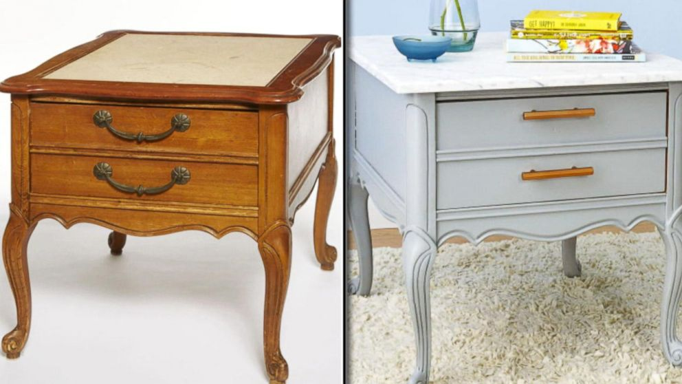 VIDEO: From trash to treasure: Lara Spencer revamps old furniture