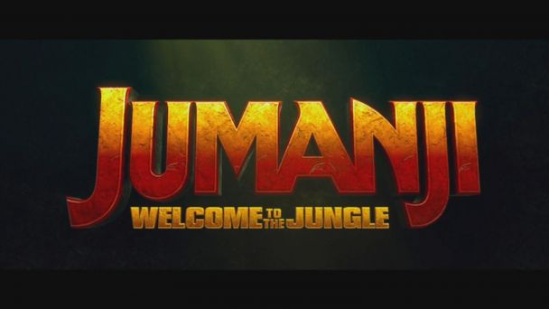 VIDEO: New action-packed 'Jumanji' movie trailer debuts