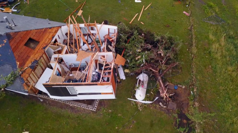 VIDEO: Tornadoes strike from Iowa to Wisconsin