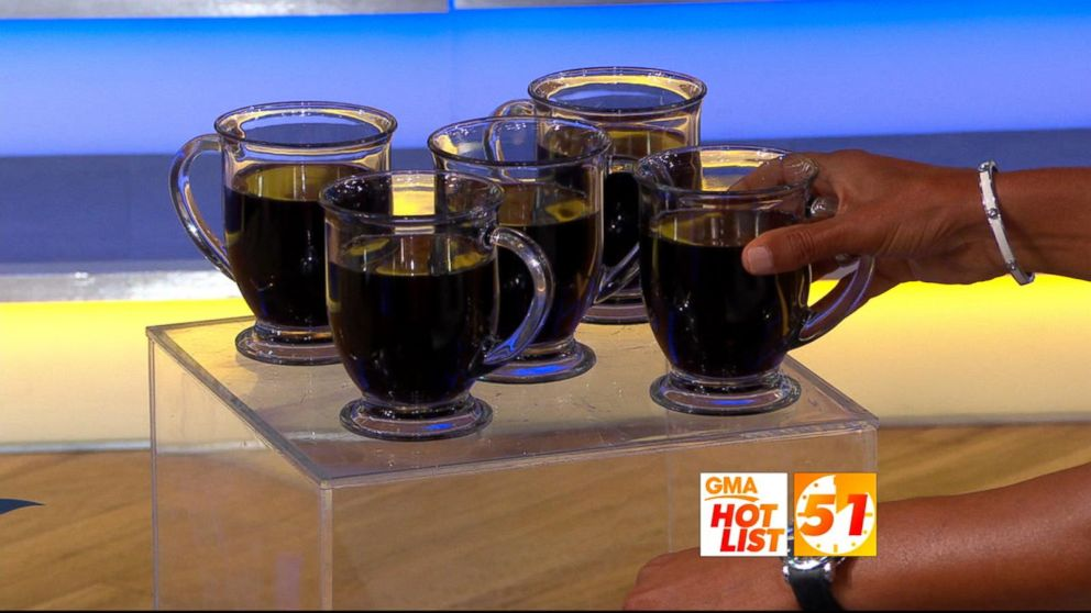 WATCH: 'GMA' Hot List: New study says drinking coffee can lower your risk of death