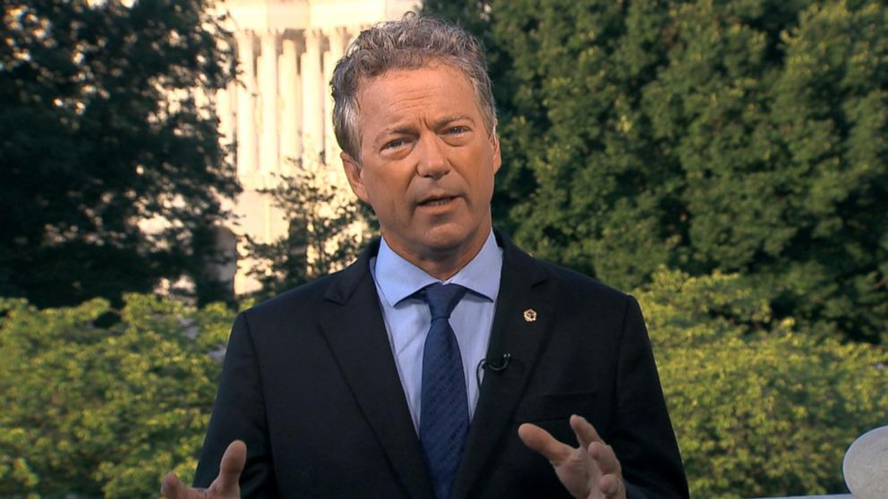 Video: Sen. Rand Paul speaks out on health care bill defeat