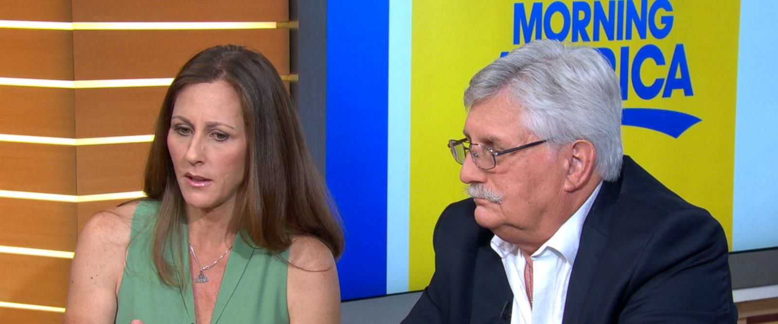 VIDEO: Fred and Kim Goldman speak out about OJ Simpson's parole live on 'GMA'