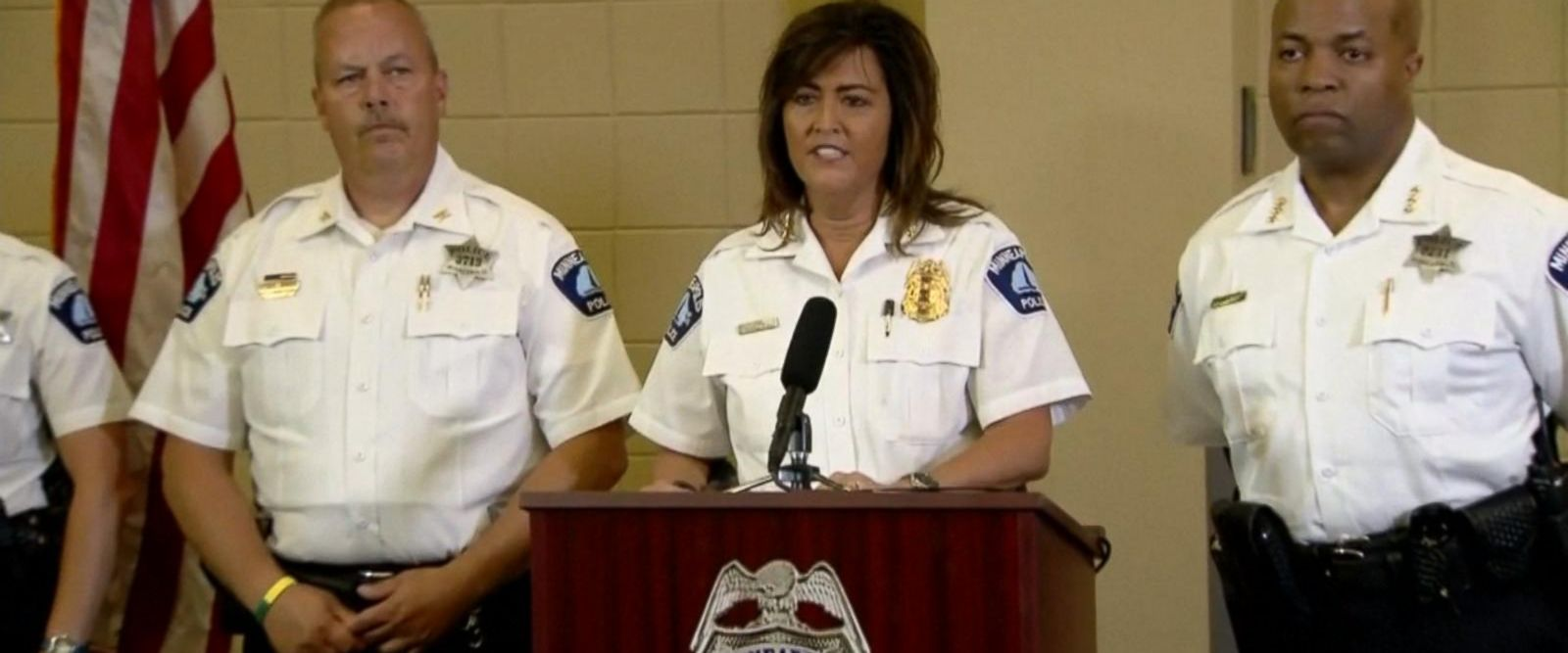 VIDEO: Minneapolis police chief resigns in fallout from bride-to-be's death at the hands of police