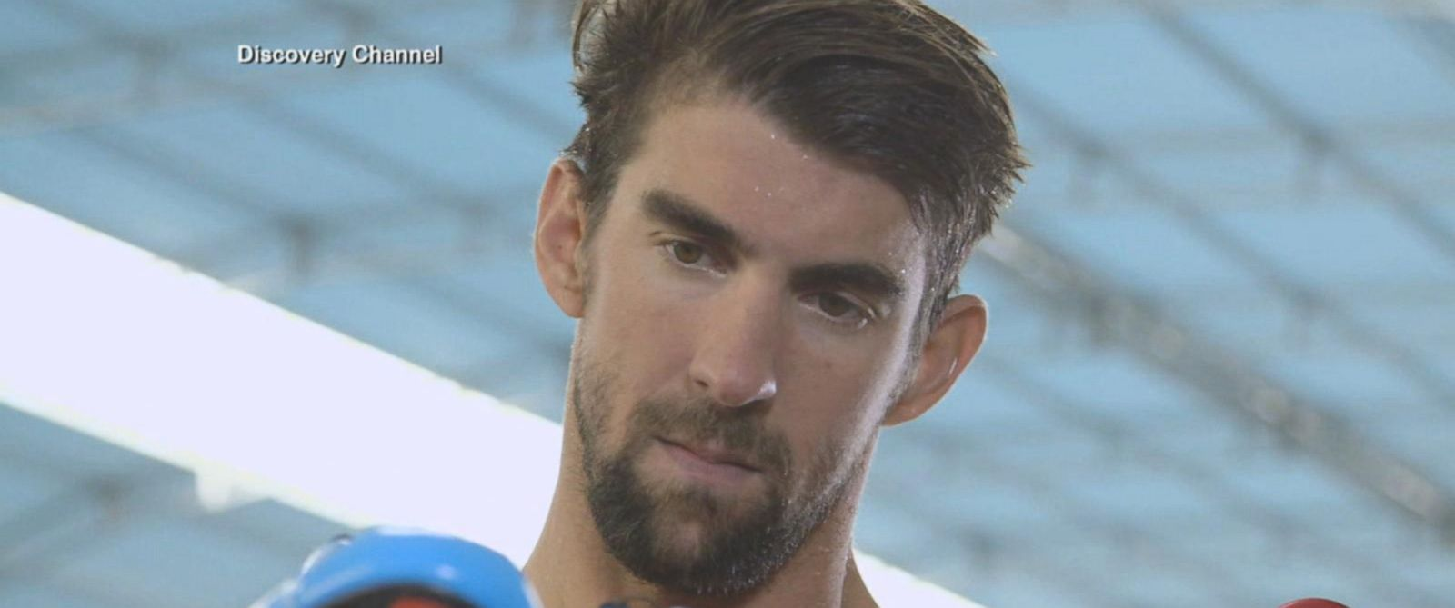 VIDEO: Michael Phelps to race great white to kick off 'Shark Week'