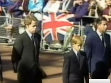 WATCH:  Princess Diana's brother 'lied to' over coffin walk at her funeral