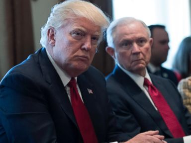WATCH:  Trump leaves open possibility of firing Sessions