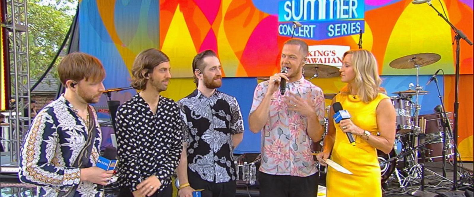 VIDEO: Imagine Dragons opens up about their latest projects