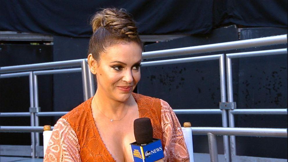 alyssa milano says she was terrified to join wet hot