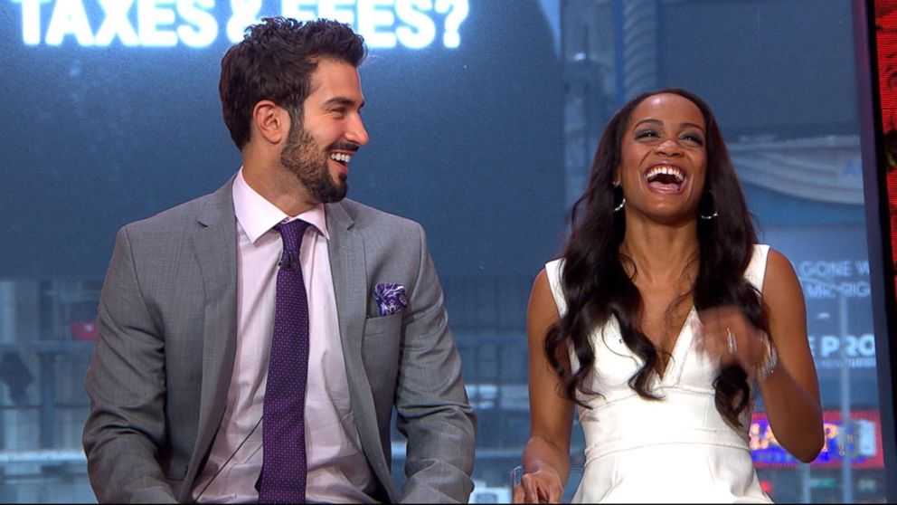 Bachelorette Rachel Lindsay Fiance Bryan Abasolo Play The Newlywed Game Video