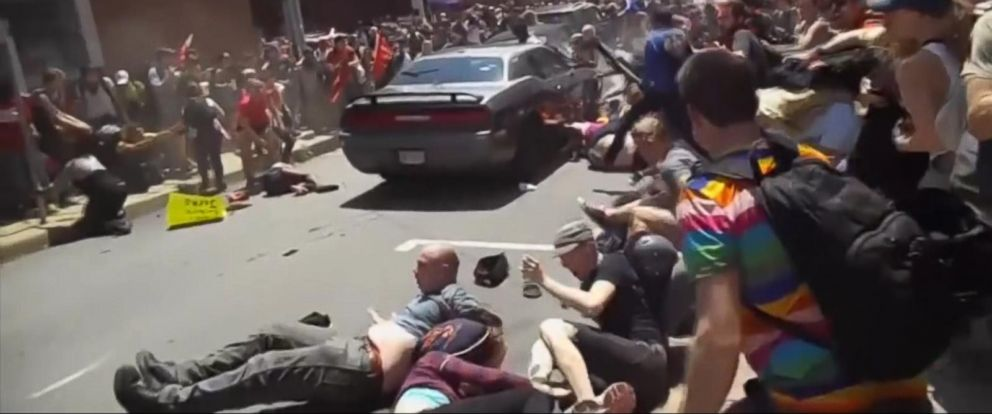 VIDEO: Suspected driver in deadly Charlottesville crash arrested