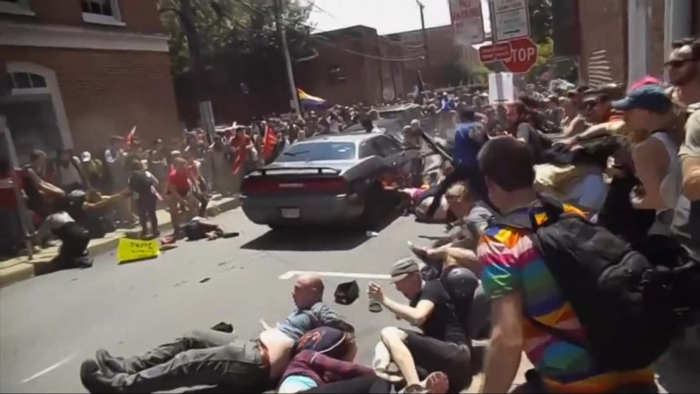 Video Of Car Charlottesville Crash