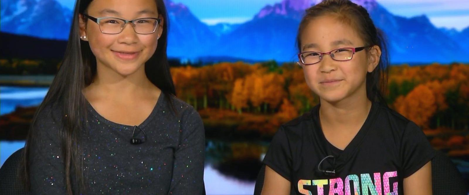 VIDEO: Sisters, aged 10 and 12, launch a solar eclipse project with NASA