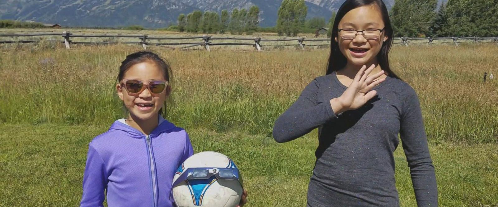 VIDEO: Science-loving sisters explain the total solar eclipse in 1 minute