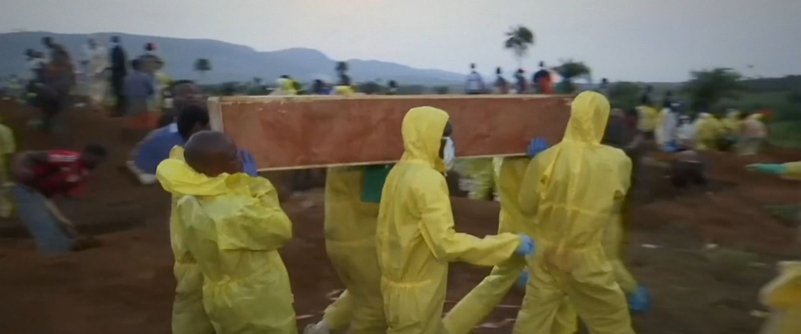 The U.N. humanitarian agency put the death toll at 409 after the flooding and mudslides in the West African nation's capital, Freetown, on Monday morning.