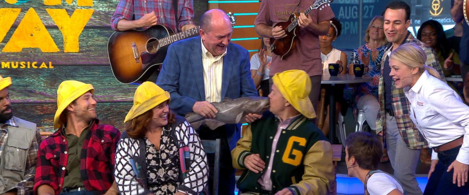 VIDEO: The cast of 'Come From Away' perform 'Screech In' live on 'GMA'