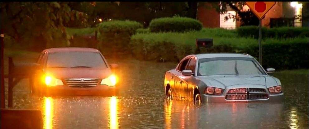 VIDEO: Remnants from Hurricane Harvey
