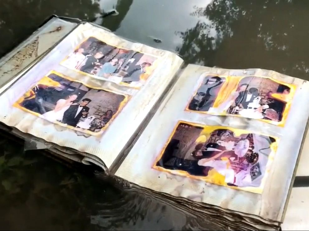 VIDEO: Margaret Cheiner was thrilled to get her pictures back after Lauren Thompson Miller found them near Buffalo Bayou.