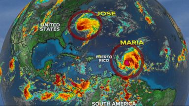 Potentially Catastrophic Hurricane Maria making its way to Puerto Rico