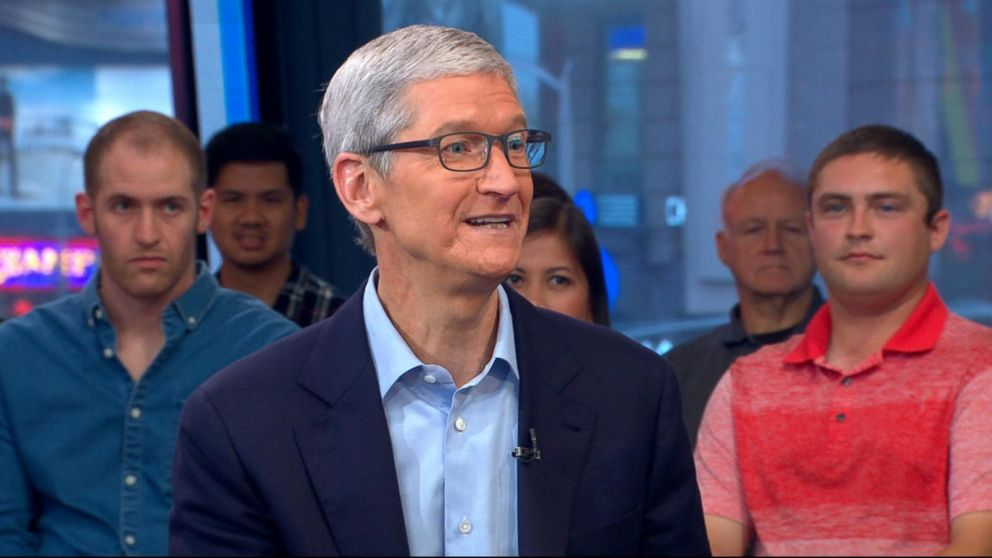 Apple CEO speaks out on Dreamers, augmented reality