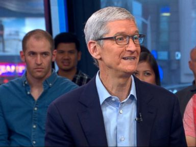 WATCH:  Apple CEO talks Dreamers, augmented reality
