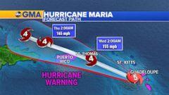 VIDEO: Hurricane Maria slams the Caribbean