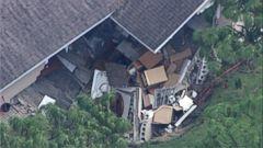 VIDEO: Sinkholes threaten Florida homes after Irma