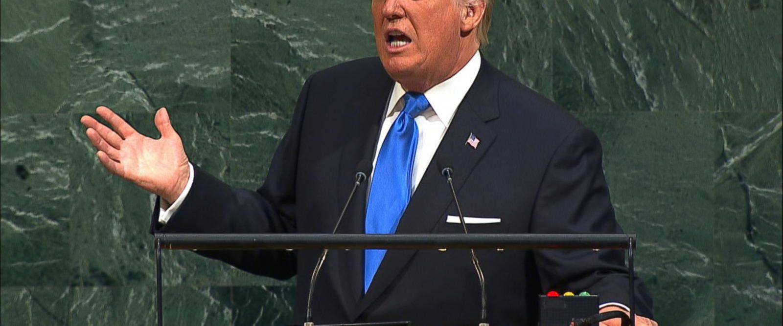 VIDEO: Trump delivers blistering address to UN General Assembly