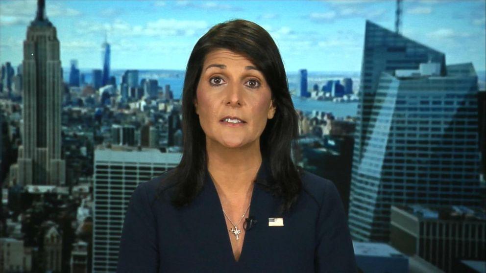 WATCH:  Nikki Haley speaks out on North Korea, Trump's UN address