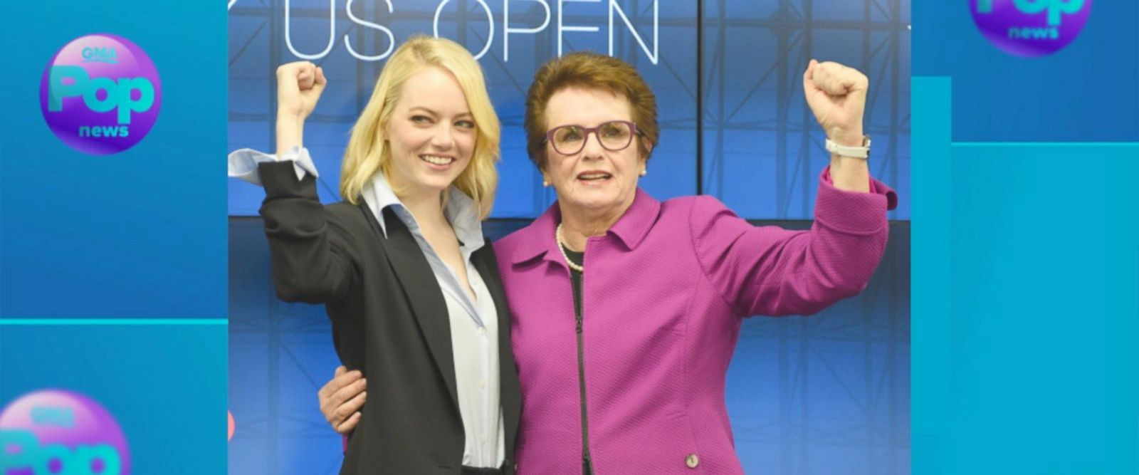 VIDEO: How Emma Stone became tennis legend Billie Jean King for 'Battle of the Sexes'