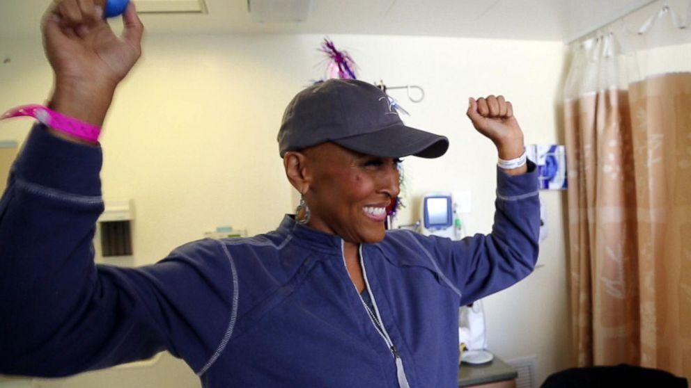 WATCH:  Robin Roberts marks milestone 'birthday': 5 years since her bone marrow transplant