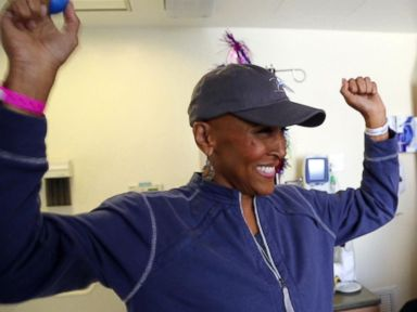 WATCH:  Robin Roberts marks milestone 'birthday': 5 years since her bone marrow transplant