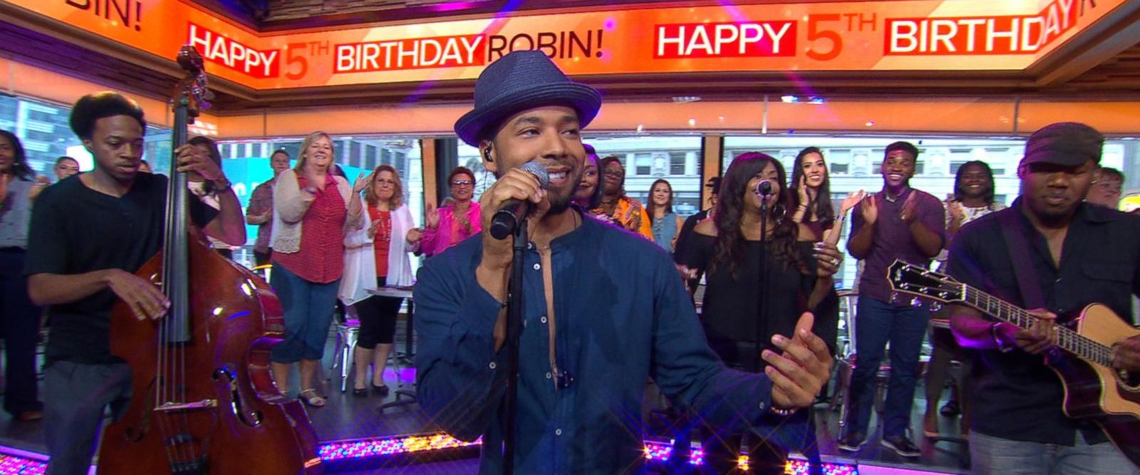 VIDEO: Jussie Smollett gives a special performance of 'You're So Beautiful'