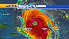 Maria restrengthens to Category 3 hurricane