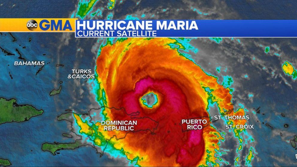 Maria restrengthens to Category 3 hurricane